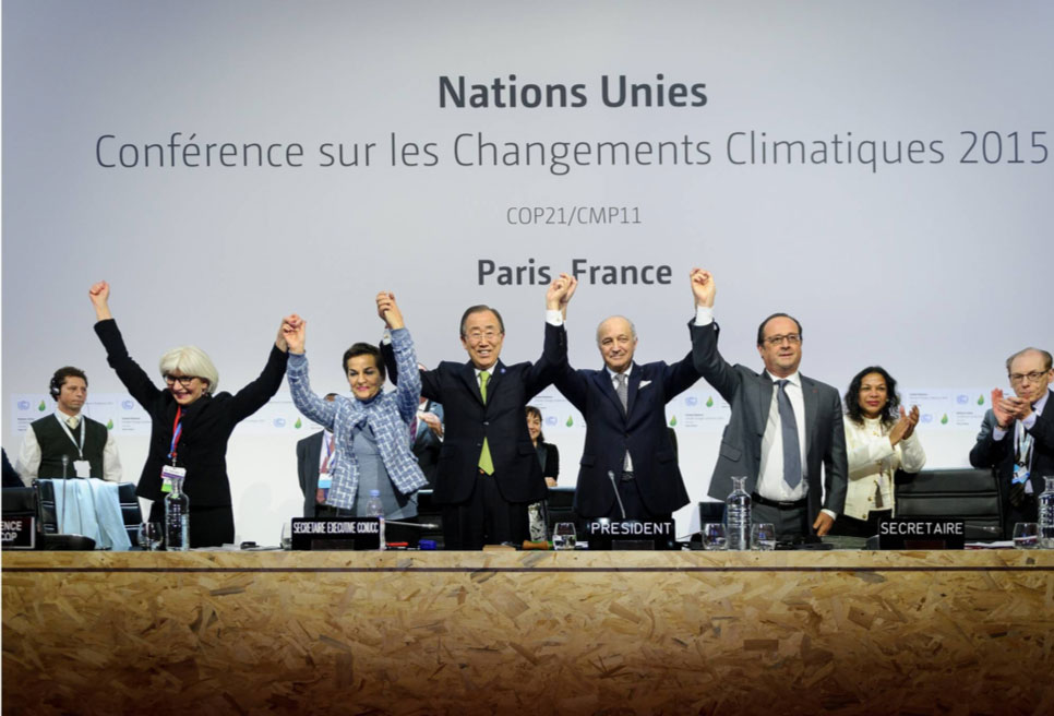 Paris Agreement signing