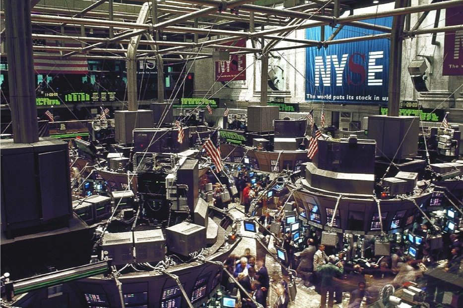 Image of NYSE stock exchange