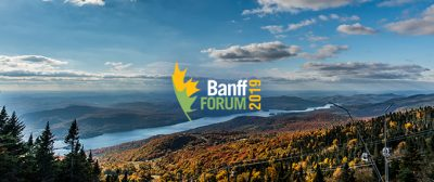 James Orbinksi Speaks at Annual Banff Forum @ Mont Tremblant, Quebec