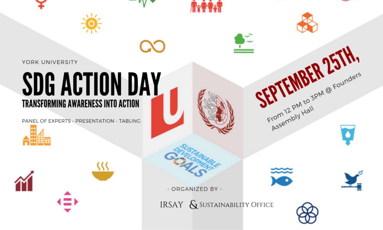 Promotional poster for SDG Day