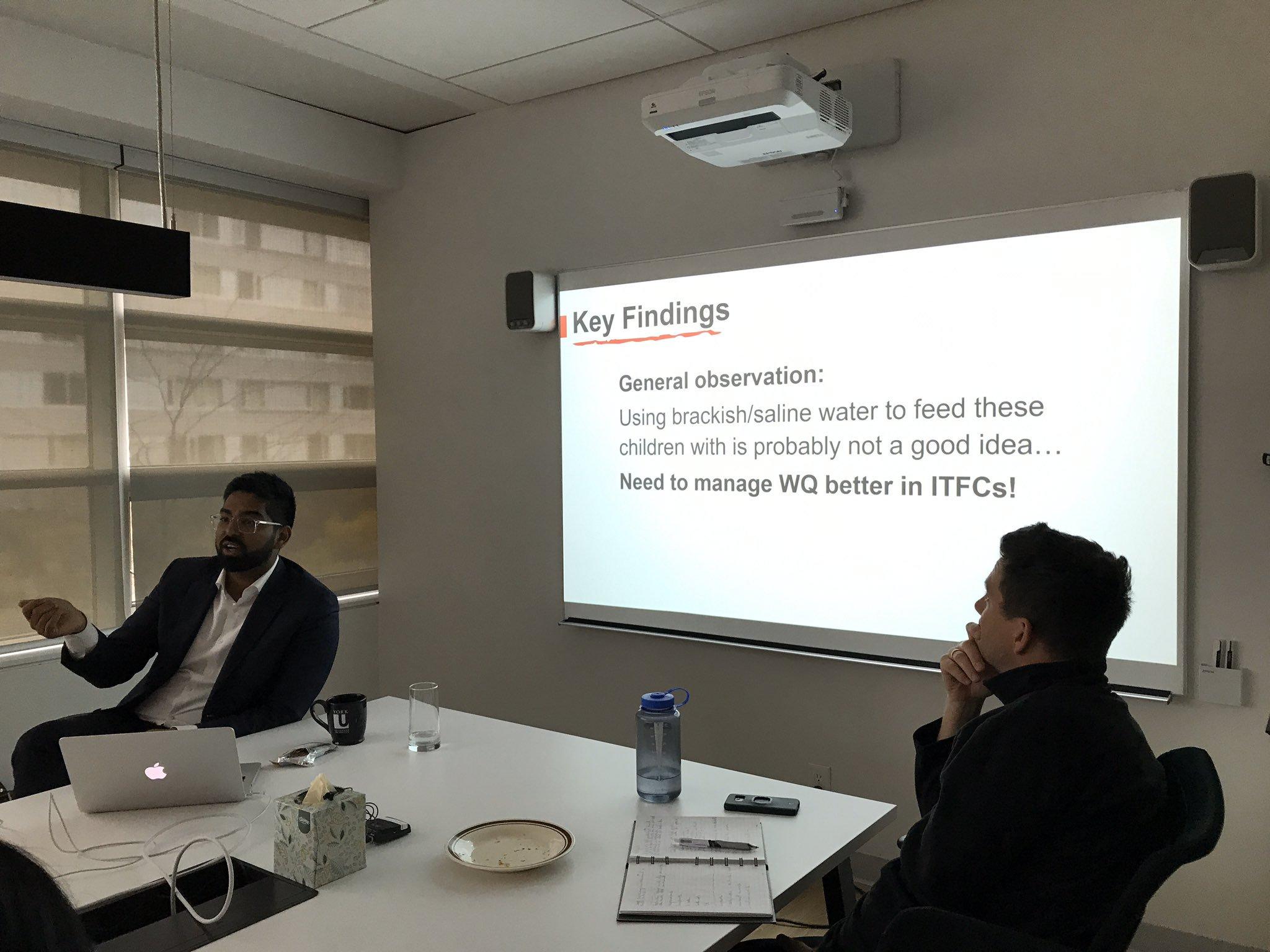 Syed Imran Ali delivers seminar