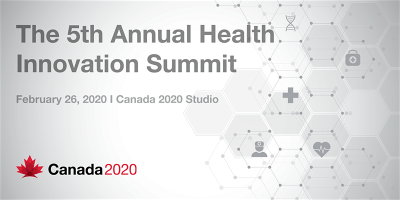 James Orbinski Special Presentation at the 5th Annual Health Innovation Summit @ Canada 2020 Studio