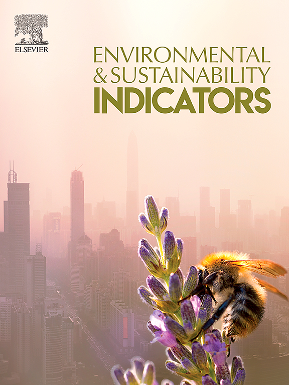 Environment and Sustainability Indicators