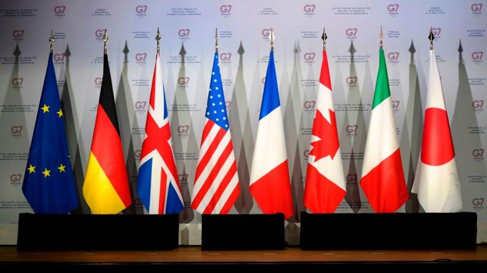 G7 Member Flags