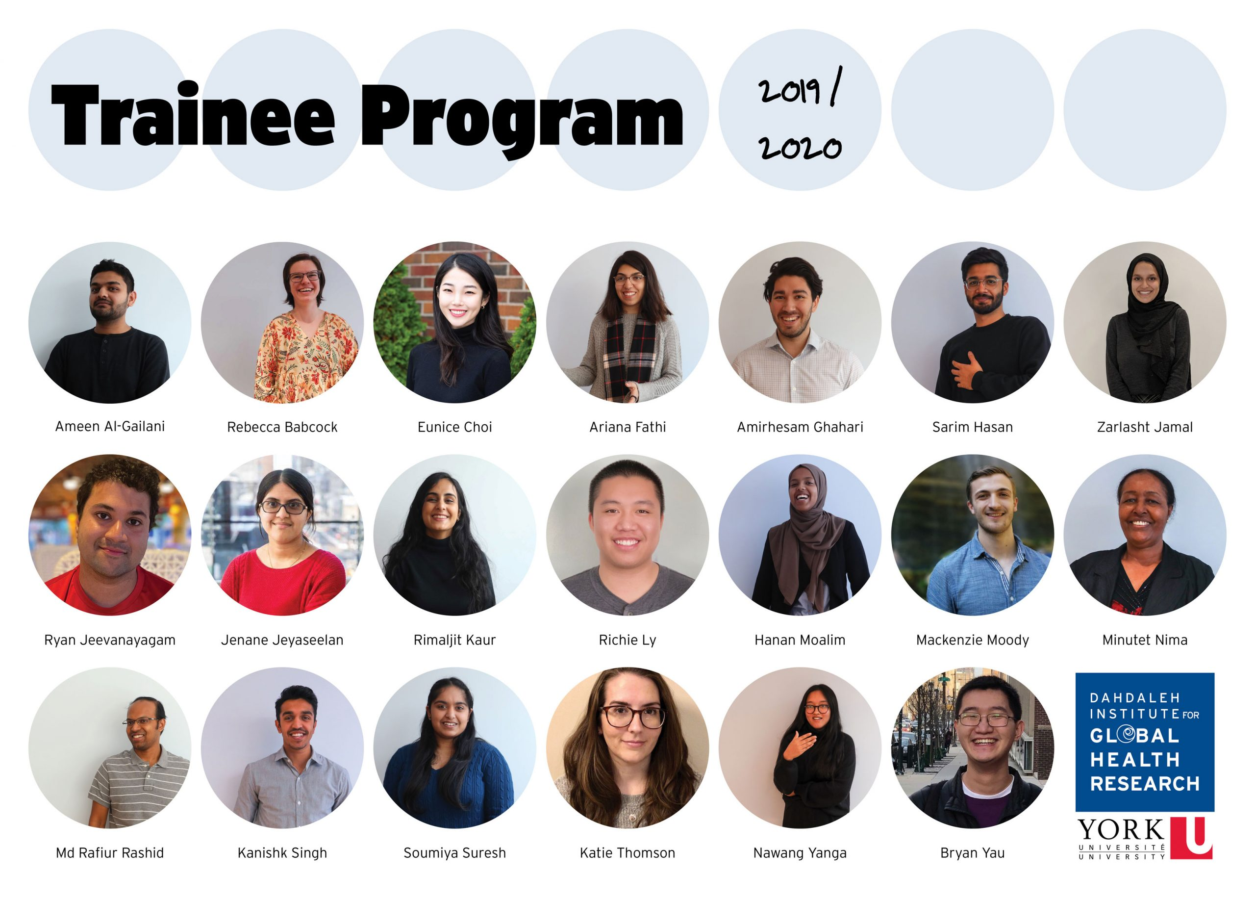 Trainee Program 2019-2020