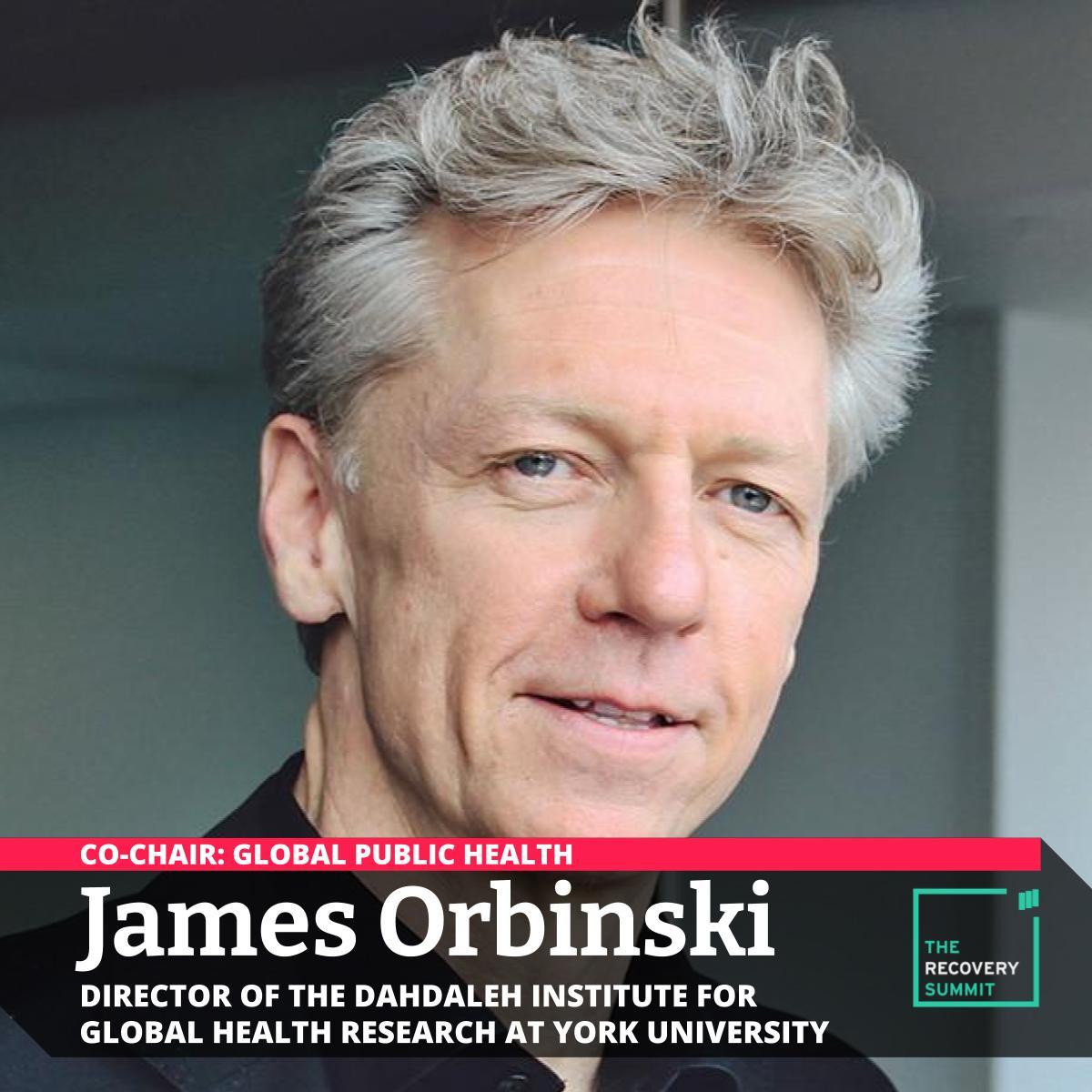 Recovery Summit James Orbinski