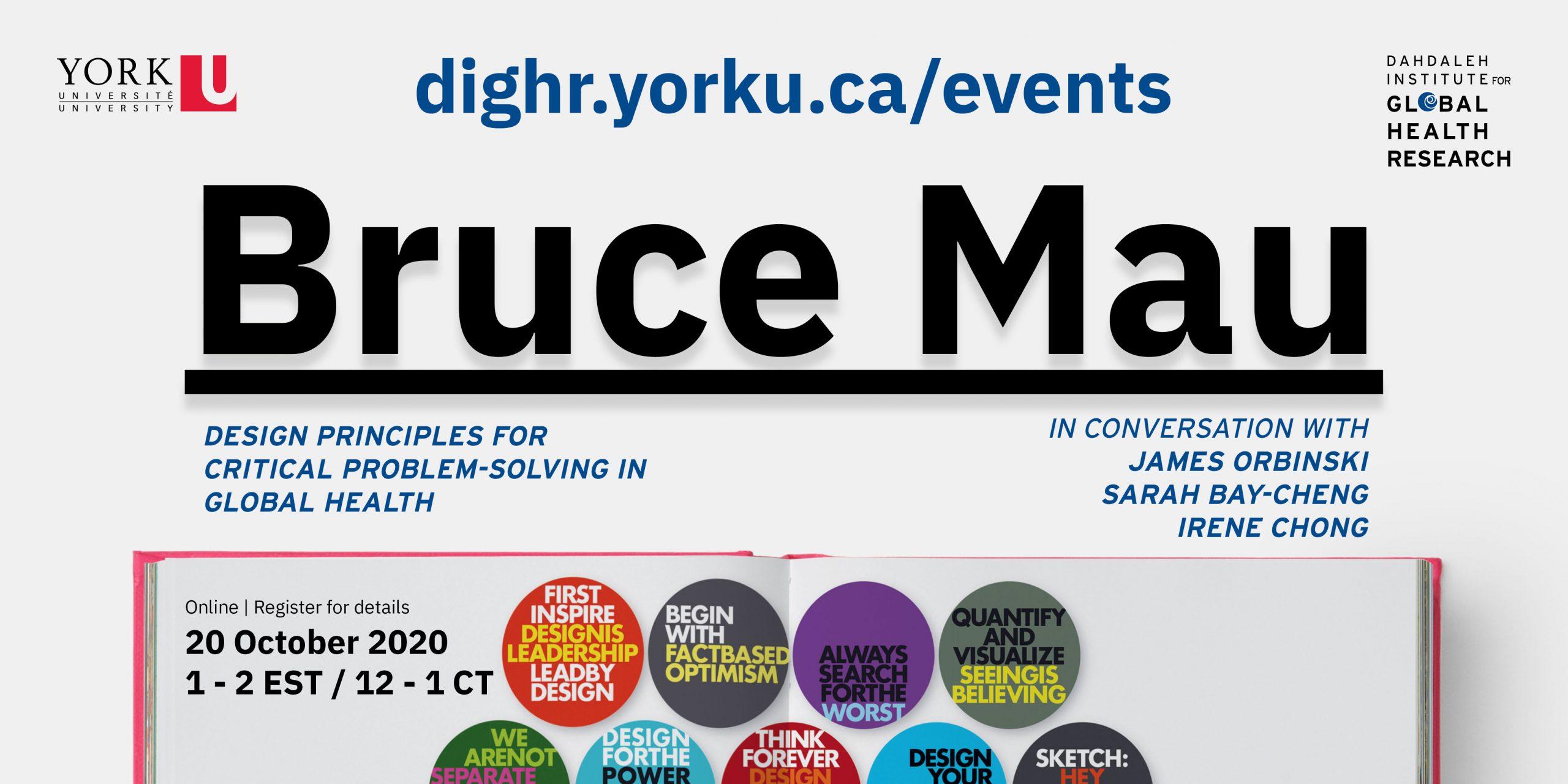 Bruce Mau event