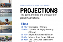 Projections: the good, the bad and the weird of global health films