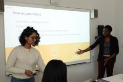 Student Symposium 2019: Tanya and Sayo present