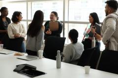 Student Symposium 2019: Interns with Theresa Dinh, Trainee Program Coordinator
