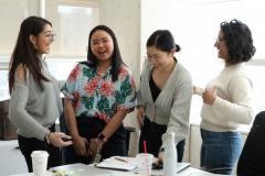 Student Symposium 2019: Fatima, Mikaela, Eileen and Tanya